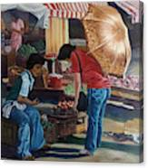Market Scene Divisoria Canvas Print