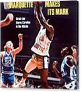 Marquette Butch Lee, 1977 Ncaa National Championship Sports Illustrated Cover Canvas Print