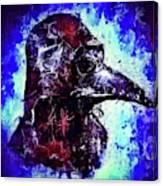 Plague Mask 3 Canvas Print