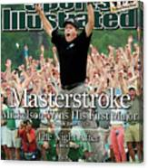 Masterstroke Mickelson Wins His First Major Sports Illustrated Cover Canvas Print