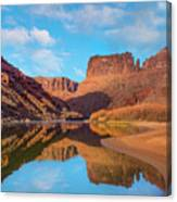 Mat Martin Point And The Colorado Canvas Print