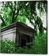 Mausoleum In Georgia IIi Canvas Print