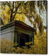 Mausoleum In Georgia  Canvas Print