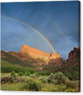 Maxwell Canyon Rainbow Canvas Print
