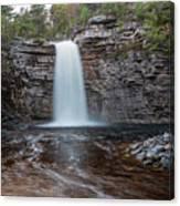 May Evening At Awosting Falls I Canvas Print