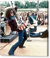 Mc 5 Live In Mount Clemens Canvas Print