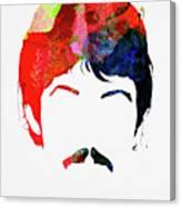 McCartney Watercolor Canvas Print