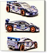 Mclaren F1 Gtr Canvas Print