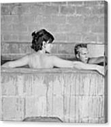 Mcqueen & Adams In Sulphur Bath Canvas Print