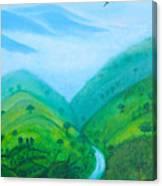 Medellin Natural Canvas Print