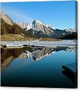 Medicine Lake, Jasper National Park Canvas Print