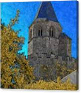 Medieval Bell Tower 3 Canvas Print