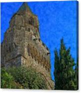 Medieval Bell Tower 5 Canvas Print