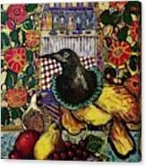 Medieval dinner Canvas Print