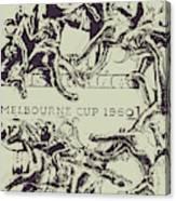 Melbourne Cup 1960 Canvas Print