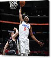 Melbourne United V Los Angeles Clippers Canvas Print