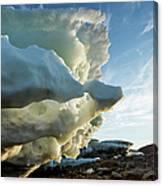 Melting Iceberg, Nunavut Territory Canvas Print