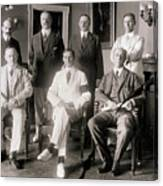 Members Of Federal Reserve Board Canvas Print