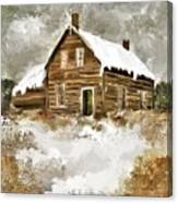 Memories Of Winters Past Canvas Print
