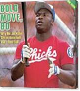 Memphis Chicks Bo Jackson, Class Aa Southern League Sports Illustrated Cover Canvas Print