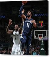Memphis Grizzlies V Milwaukee Bucks Canvas Print
