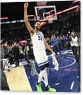 Memphis Grizzlies V Minnesota Canvas Print