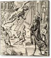 Mercury And Aeneas  State    Canvas Print
