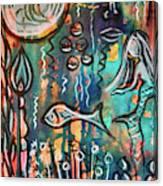 Mermaids Dream Canvas Print