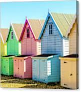 Mersea Island Beach Huts, Image 7 Canvas Print