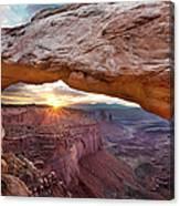 Mesa Arch, Canyonlands, Utah Canvas Print