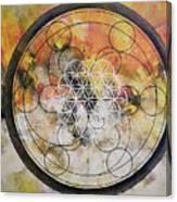Metatronic Canvas Print