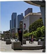Metro Station Civic Center Los Angeles Canvas Print