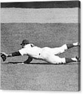 Mets Ron Swoboda Dives To Stab Brooks Canvas Print