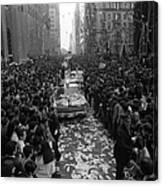 Mets Ticker Tape Parade Canvas Print