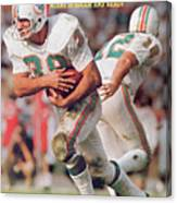 Miami Dolphins Larry Csonka, Super Bowl Vii Sports Illustrated Cover Canvas Print