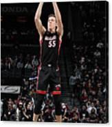 Miami Heat V Brooklyn Nets Canvas Print