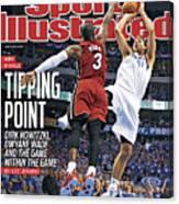 Miami Heat V Dallas Mavericks - Game Three Sports Illustrated Cover Canvas Print