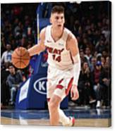 Miami Heat V Philadelphia 76ers Canvas Print