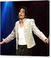Michael Jackson Performs Onstage During Canvas Print