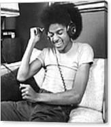 Michael Jackson, The Lead Singer Of Canvas Print