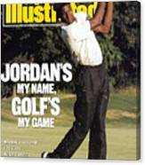 Michael Jordan, 1989 St. Jude Classic Sports Illustrated Cover Canvas Print