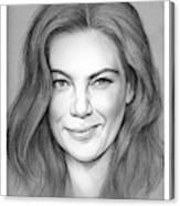 Michelle Monaghan Canvas Print