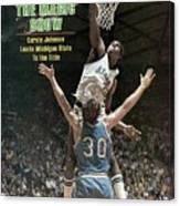 Michigan State Magic Johnson, 1979 Ncaa National Sports Illustrated Cover Canvas Print