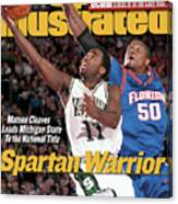 Michigan State University Mateen Cleaves, 2000 Ncaa Sports Illustrated Cover Canvas Print