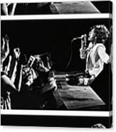 Mick Jagger Of The Rolling Stones In Canvas Print