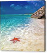 Middle Caicos Tranquility Awaits Canvas Print