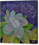 Midnight Magnolia I Canvas Print