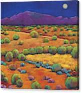 Midnight Sagebrush Canvas Print