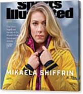 Mikaela Shiffrin, Sports Illustrated, March 2020 Sports Illustrated Cover Canvas Print