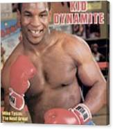 Mike Tyson, Heavyweight Boxing Sports Illustrated Cover Canvas Print